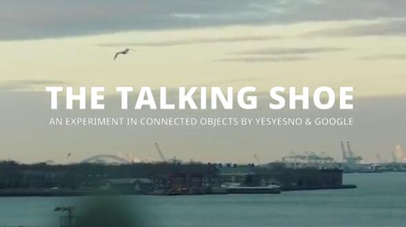 Говорещи обувки от Google