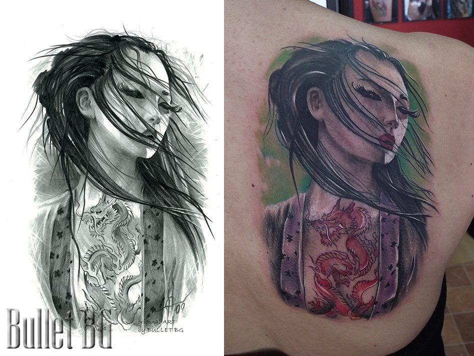 Bullet Bg Tattoo Designs