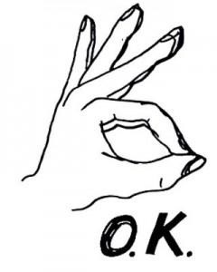 """Всичко е """"Ок' е жест с различно значение по света"""