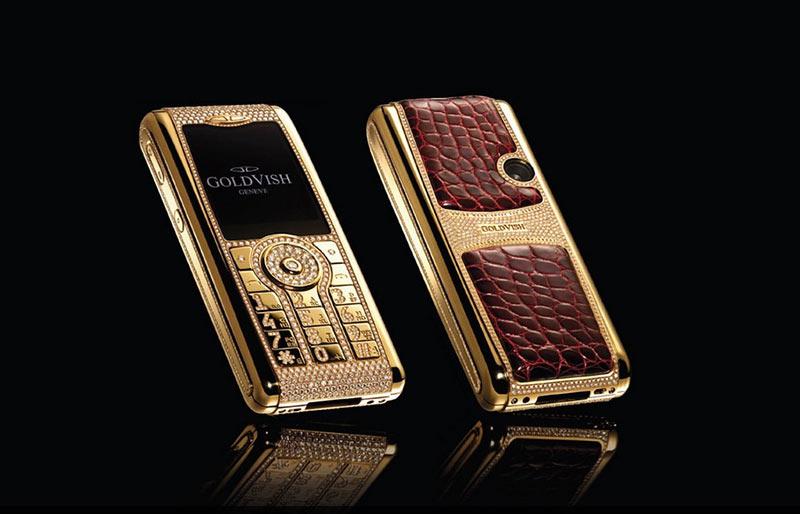 Най-скъпите мобилни телефони на Goldvish