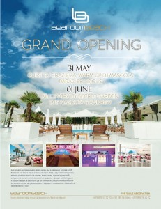 Bedroom Beach season'13 Grand opening!