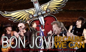 Bon Jovi забиват утре вечер в София!
