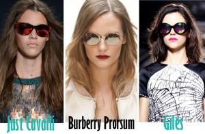 Дамски слънчеви очила за лято 2013