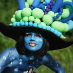 11 Луди снимки от световния боди пейнтинг фестивал