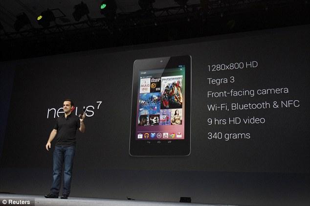 Google Nexus 7 с подобрени характеристики