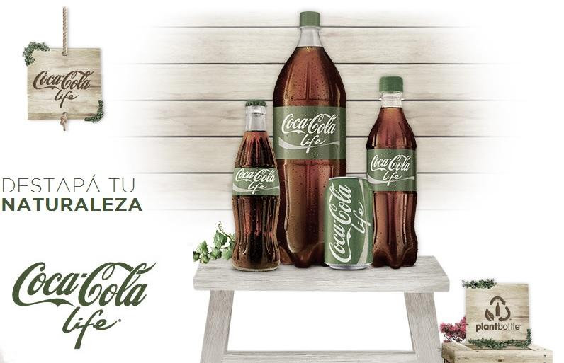 Новата Coca Cola Life
