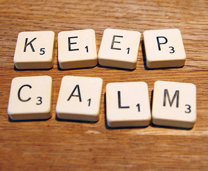 Запазете спокойствие, дори когато нищо не върви