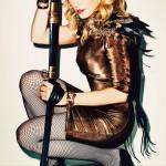 Мадона на корицата на Harpers Bazaar