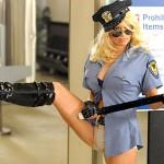 Бъдете строга полицайка на Хелоин