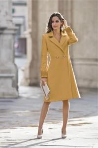 Палто или яке в ярък цвят