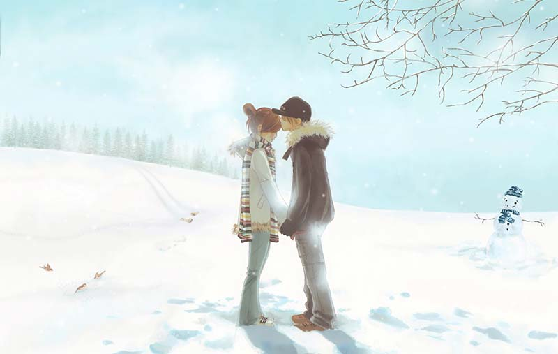 Зима - време за любов