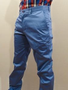 Модерни и секси със сини панталони тази есен
