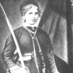 Райна Касабова държи българския флаг