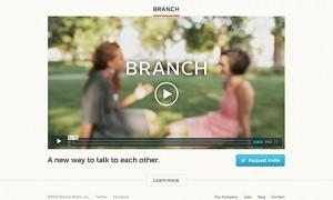 Новата иновативна социлана мрежа - Branch