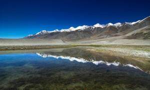 Пангонг Цо езеро, Хималаи