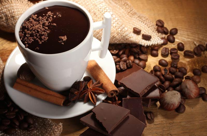 Коледен горещ шоколад