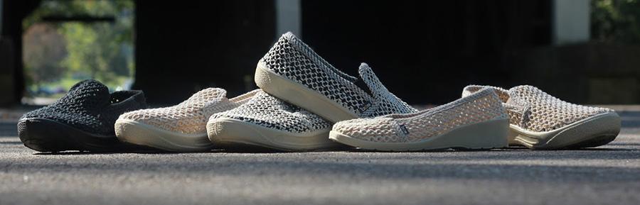 Запазена марка: българските плетени обувки