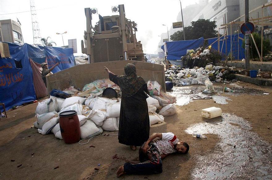 Изключителните моменти на мир по време на протести