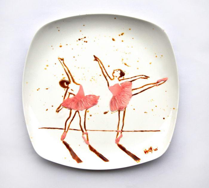 Най-креативни примери за изкуство от храна от Хонг Юи