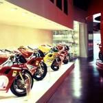 Романтична разходка в музея на Ducati