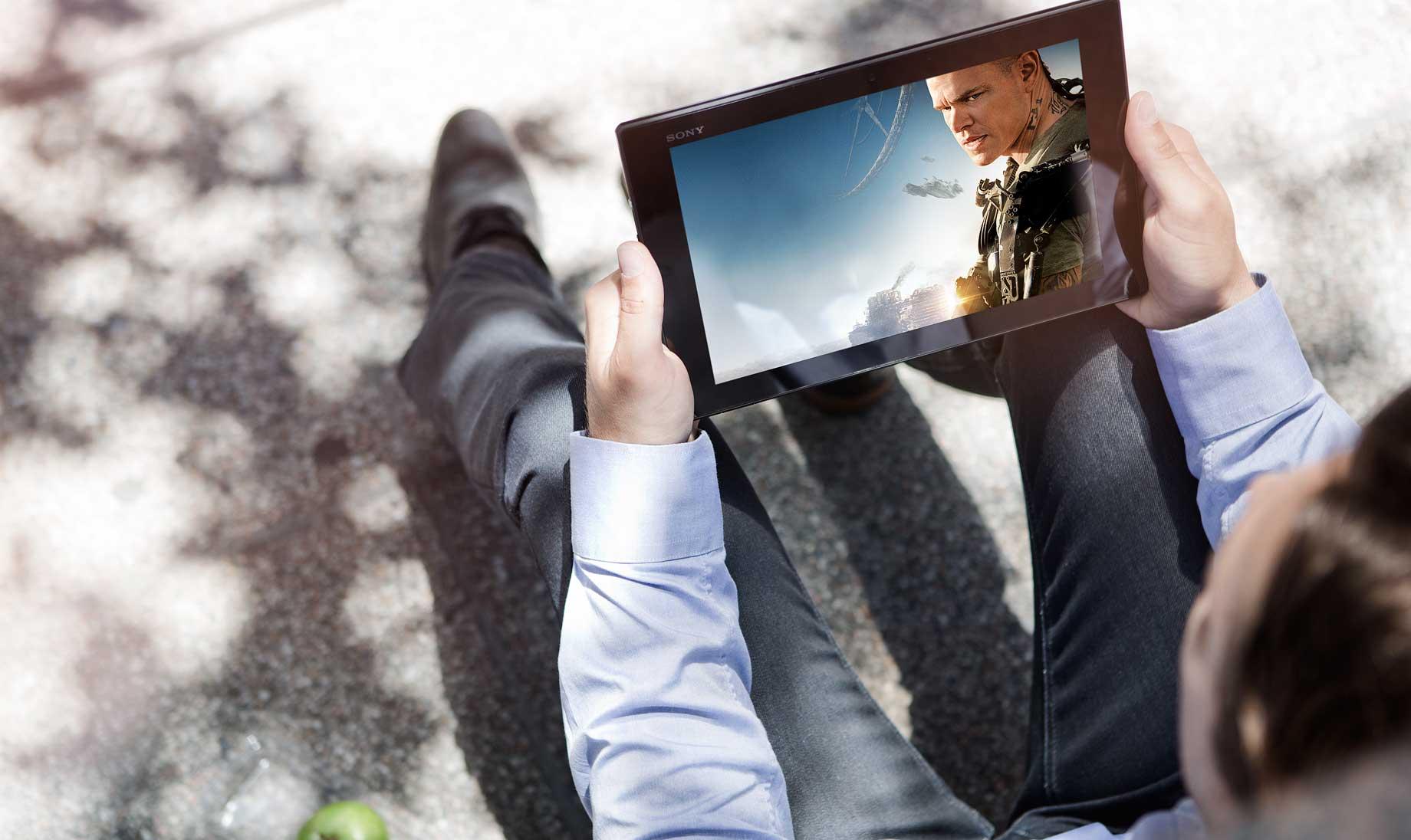 Sony Tablet Z2 е най-лекият таблет на пазара