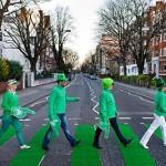 Англия свети в зелено заради Свети Патрик