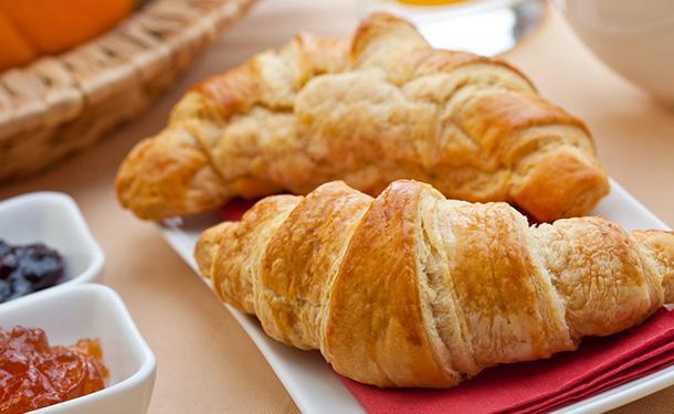 Кроасанът е част от френска традиционна закуска