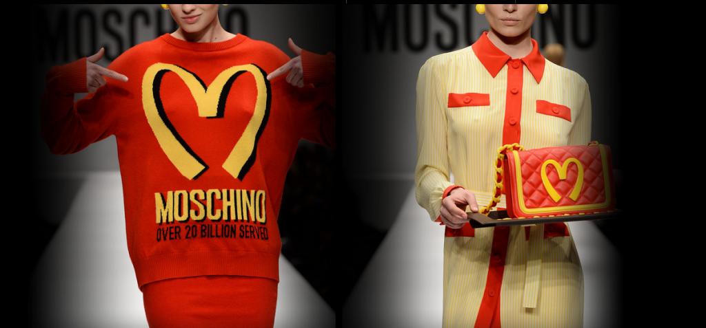 McDonald's пуловерите на Moschino разпродадени само за 2 седмици
