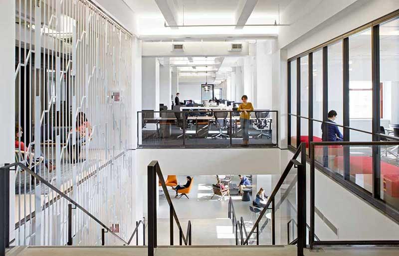 Shutterstock с иновативен нов офис