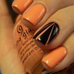Оранжев лак е на мода през пролетта