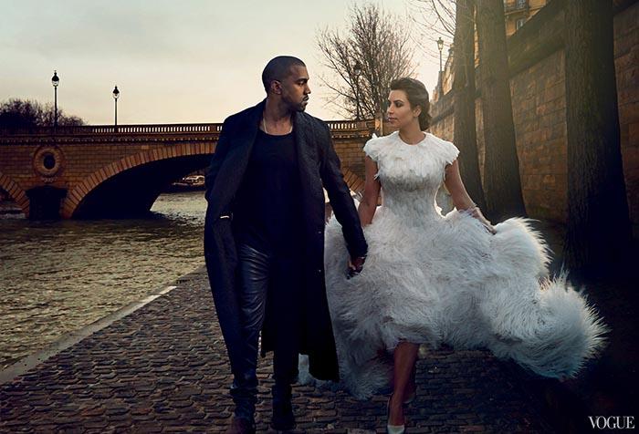 Ким Кардашян и Кание Уест с 3 сватби