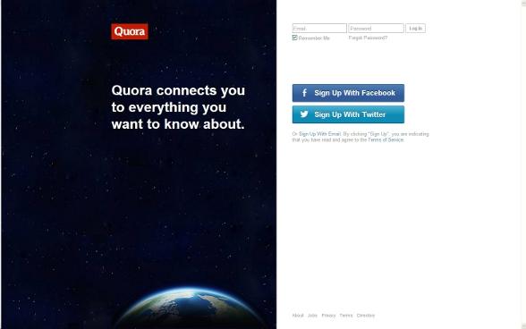 Quora предоставя безброй различни теми