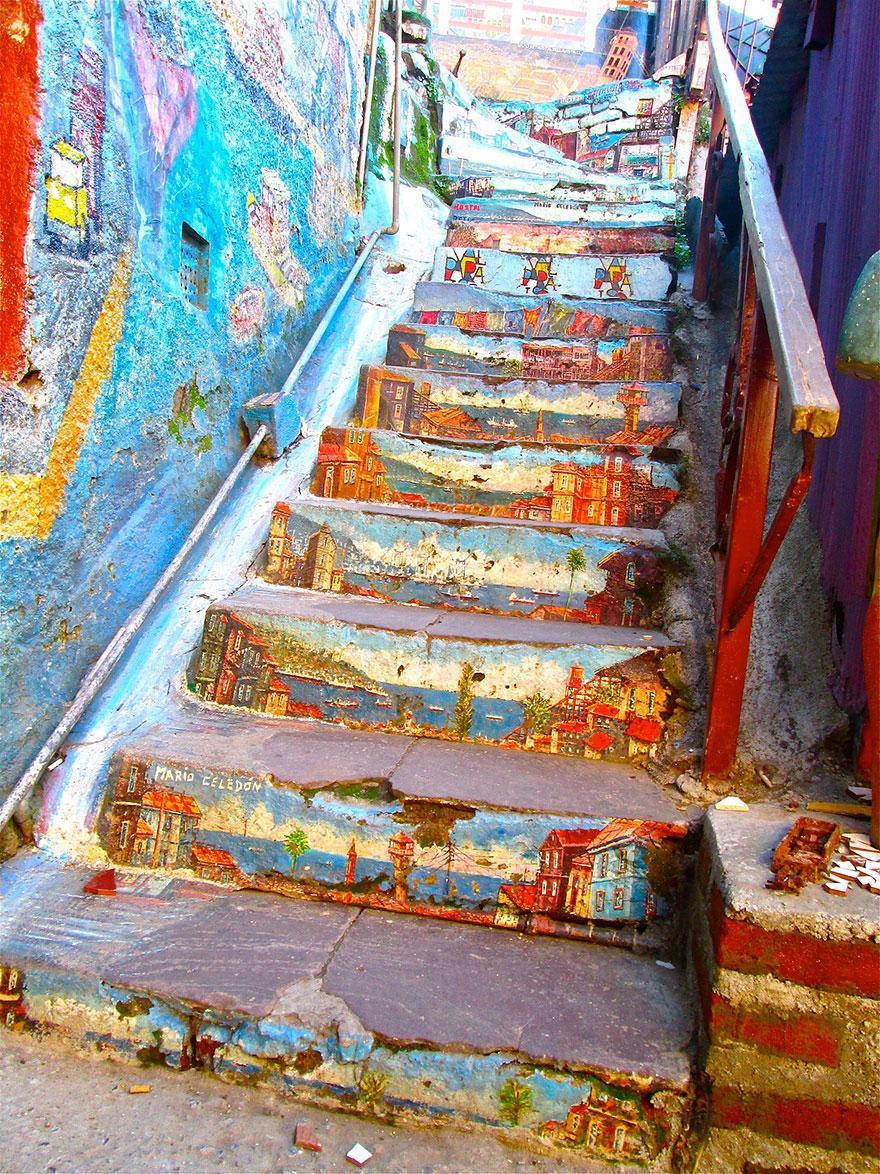 Валпараисо и страхотните му Street art улици