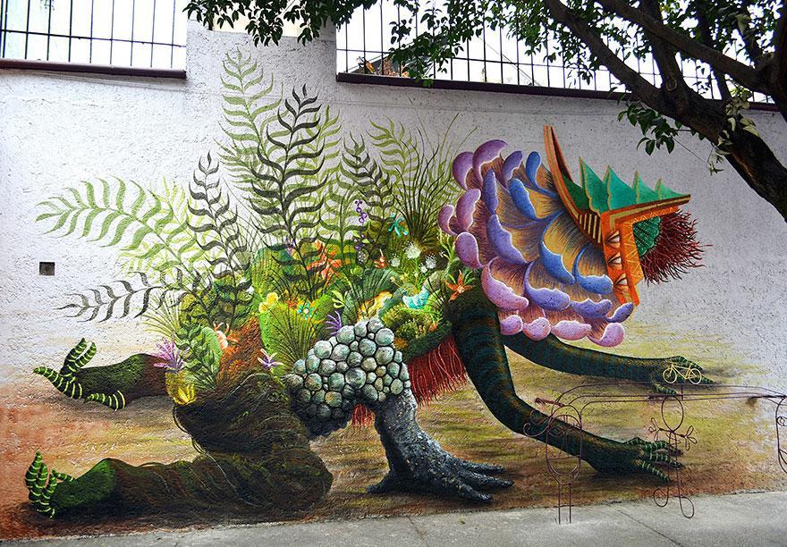 Мексико сити и красивите Street art улици
