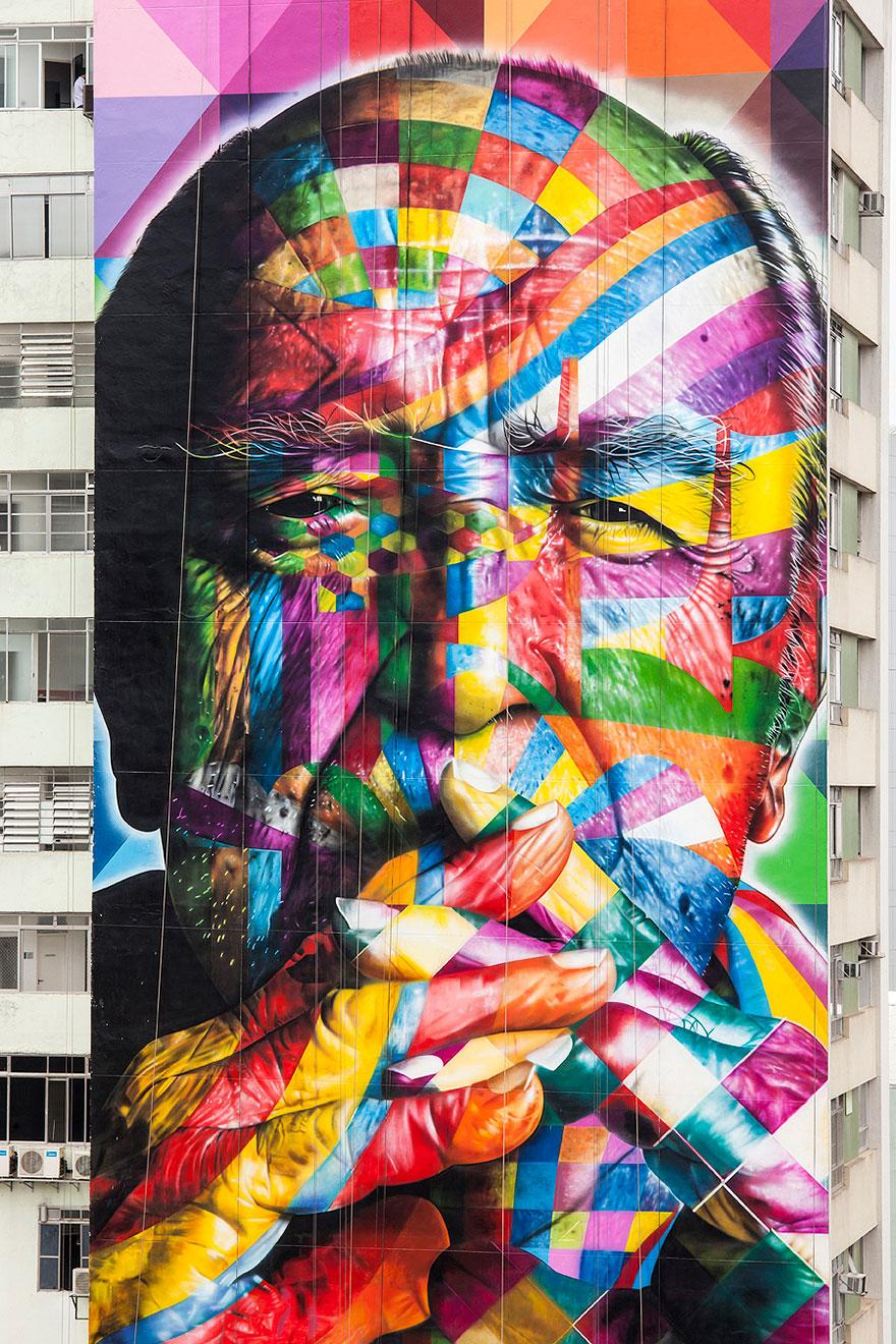 Сао Паоло и страхотните му Street art улици