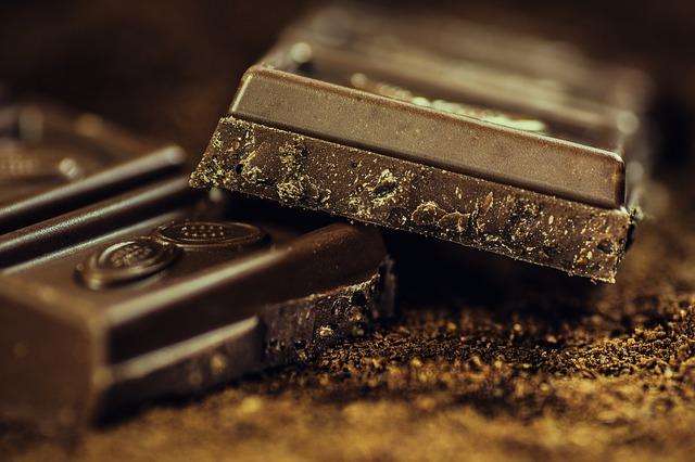Черен шоколад хубава кожа
