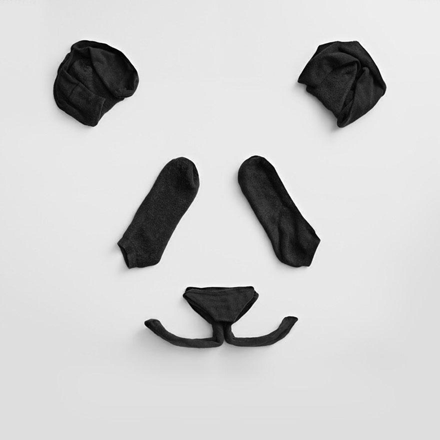 Изкуството на пандатата от чорапи