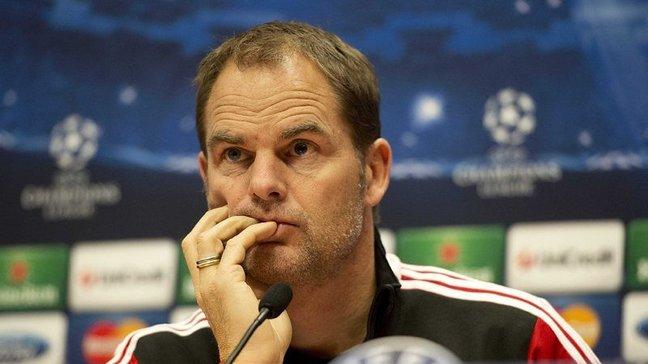 Франк де Бур е в топ 10 на най-добрите футболни мениджъри