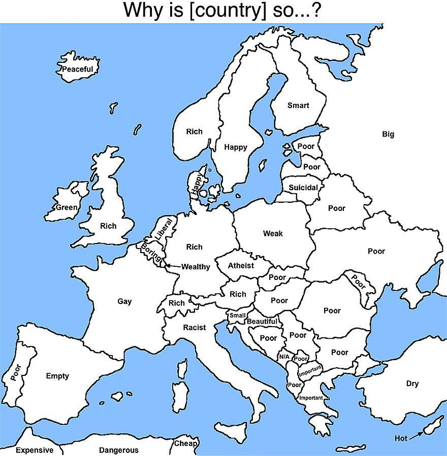 Google Autocomplete: Europe