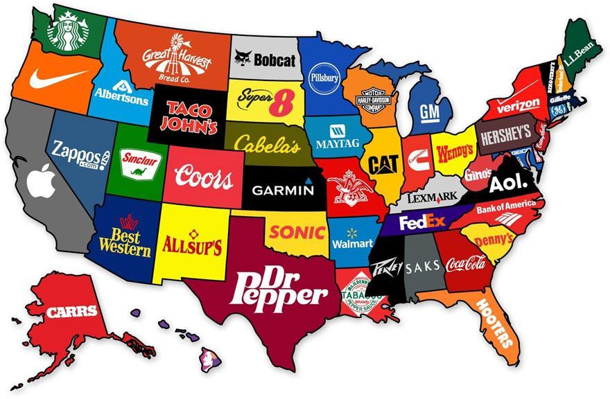 най-популярни марки в Щатите
