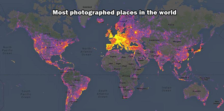 най-фотографирани места на света