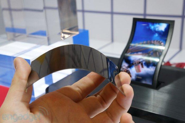 LG смартфон с гъвкав екран
