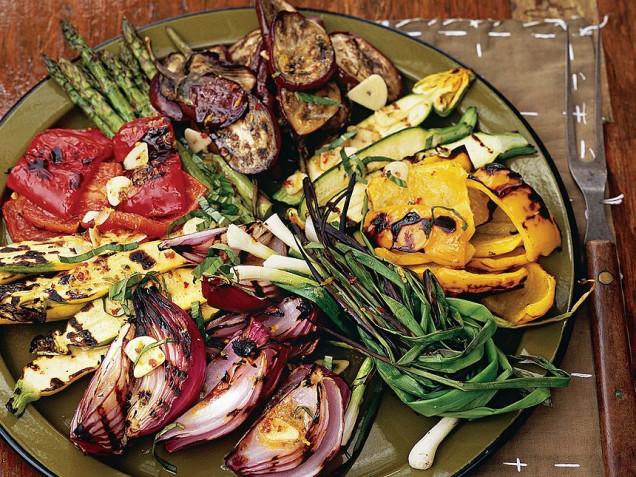Зеленчуците на грил помагат за отслабване