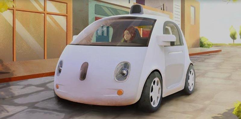 Самоуправляващите коли на Google