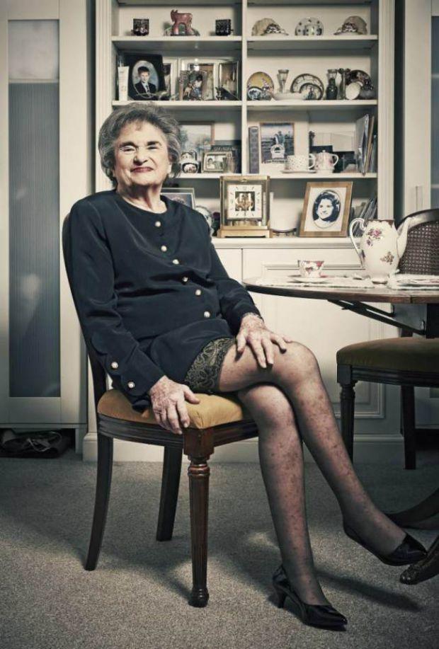 Скандалната историята на една 85 годишна дама