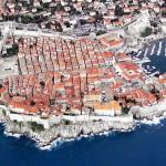 Красива снимка на Дубровник от въздуха