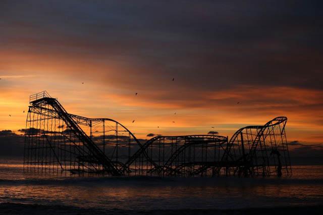 Jet Star Rollercoaster е едно от седемте дяволско зловещи, но красиви изоставени места