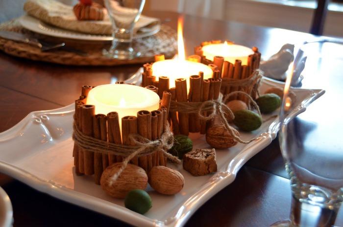 Лесни за направа ароматизатори - канелени свещи