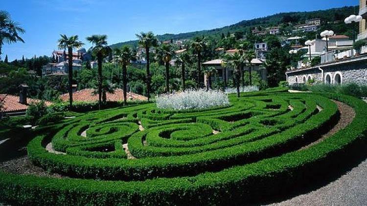 Опатия - ботаническата градина на Адриатика