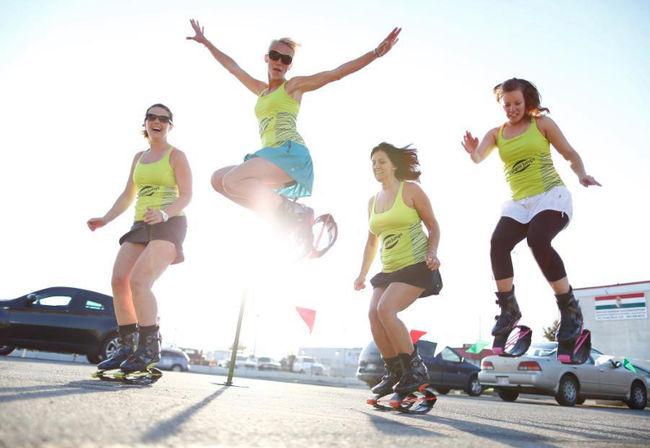 Kangoo Jumps - новата спортна мания